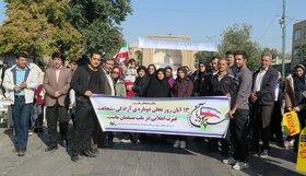 گرامیداشت سالروزحماسه ۱۳ آبان در کانون استان قزوین