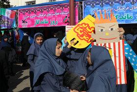 حضور کارکنان و اعضای کانون گیلان در راهپیمایی یومالله 13 آبان