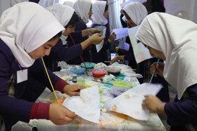 پیک امید کانون  مازندران در مدرسه شاهسوارنی روستای اسلام آباد شهرستان میاندرود