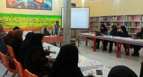 """پودمان آموزشی """" حفاظت و نگهداری از مراکز فرهنگی هنری"""" در سنندج برگزار شد"""