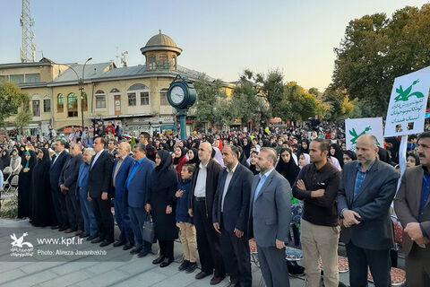 مراسم افتتاحیه بیست و ششمین جشنواره بین المللی تئاتر کودک و نوجوان همدان