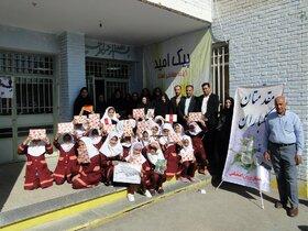 دومین برنامه امداد رسانی فرهنگی توسط کانون پرورش فکری در شهرستان اردستان اجرا شد
