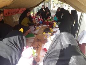 گزارش تصویری مراکز فرهنگی هنری کانون استان در روز 13آبان-غلامان