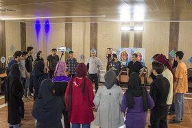 کارگاه تئاتر فیزیکال در همدان در حال برگزاری است