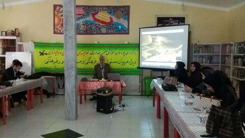 حضور مربی مسئولان و مربیان فرهنگی کانون استان کردستان در پودمان آموزشی فعالیت های علمی کودکان و نوجوانان