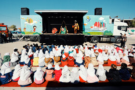 Kanoon Mobile Theaters in Hamedan International Children and Youth Theater Festival