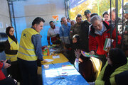 بازدید سخنگوی دولت از امداد فرهنگی کانون در مناطق زلزلهزده آذربایجان شرقی