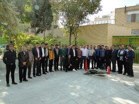 دوره آموزش ایمنی و اطفا حریق ویژه کارکنان کانون پرورش فکری در اصفهان برگزار شد