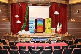 فضاسازی بیستودومین جشنواره بینالمللی قصهگویی منطقه۵ کشور در گلستان
