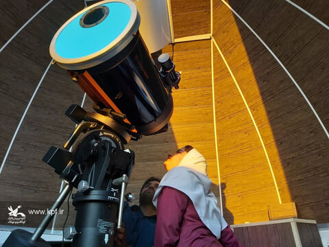 رصد گذر سیاره عطارد از مقابل خورشید