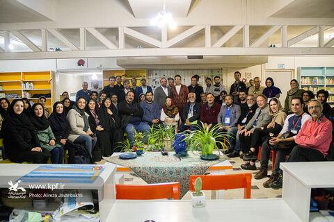 آیین اختتامیه کارگاههای آموزشی بیست و ششمین جشنواره بینالمللی تئاتر کودک و نوجوان همدان