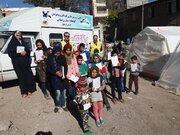 حضور اکیپ امداد فرهنگی کانون استان اردبیل در مناطق زلزلهزده