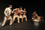 "Performing ""Tales of Adventurous Noah's Ark Journey"" at Kanoon Theater Center"