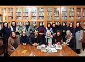 بازدید جمعی از کارکنان کانون استان تهران از شورای کتاب کودک