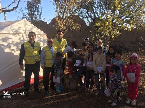 امداد فرهنگی کانون پرورش فکری کودکان و نوجوانان در مناطق زلزلهزده میانه و سراب «۲»