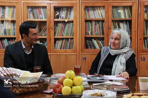 بازدید کانون استان تهران از کتابخانه تحقیقاتی شورای کتاب کودک