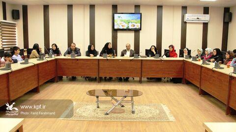نشست تخصصی کتابخوانی در مجتمع کانون زاهدان برگزار شد