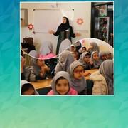 حضور قصه گویان جشنواره قصه گویی در مدارس ارومیه