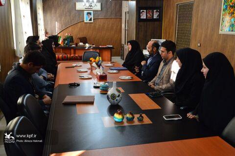 امضای تفاهمنامه فرهنگی میان ادارههای کل کانون پرورش فکریونهاد کتابخانههای استان کرمانشاه