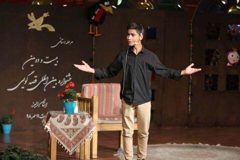 دو نوجوان البرزی به مرحلهی ملی جشنوارهی قصهگویی راه یافتند