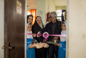 کتابخانه اسدالله شعبانی در مدرسه روستای سراوک شهر فامنین افتتاح شد
