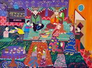 کودکان ایرانی برگزیده مسابقه نقاشی محیط زیست «جی کیو ای» ژاپن شدند