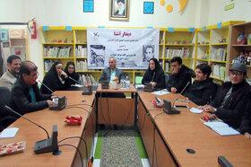 شانزدهمین نشست انجمن ادبی آفرینش کانون استان اردبیل