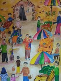 عضو کانون پرورش فکری استان کرمانشاه برگزیده مسابقه نقاشی محیط زیست کشور ژاپن شد