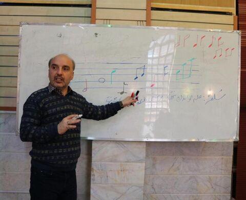 """کارگاه آموزشی """"سرود"""" ویژه مربیان فرهنگی"""