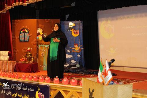 سولماز صادقزاده مربی کانون آذربایجان شرقی به «بخش بینالملل»  بیستودومین جشنواره قصهگویی راه یافت