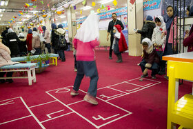 حضور کانون پرورش فکری کودکان و نوجوانان در نوزدهمین نمایشگاه اسباببازی و سرگرمی کودک و نوجوان استان همدان