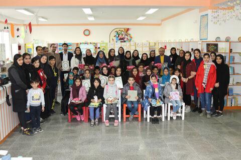 تقدیر از برگزیدگان مهرواره کتاب مراکز کانون پرورش فکری مازندران