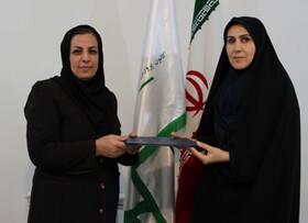 از کارشناس مسئول مالی کانون استان کردستان تقدیر شد