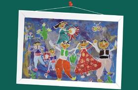 هستی رودبارانی 9ساله از مرکز فرهنگی هنری شماره 21 کانون تهران