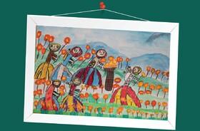 الهام قرنجیکی 7 ساله از کانون گمیشان استان گلستان