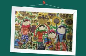 ستاره شاهویسی 9ساله از مرکز فرهنگیهنری شماره دوکانون کرمانشاه