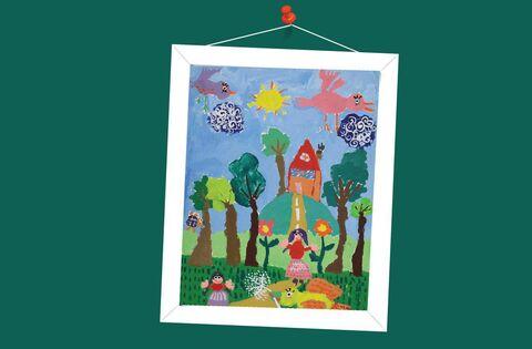 ستاره نثاری ۷ساله از مرکز فرهنگی هنری شماره 22 کانون تهران