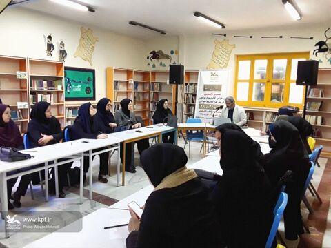 برگزاری نشست تخصصی کتابخوانی ویژه مربیان کانون پرورش فکری در کرمانشاه