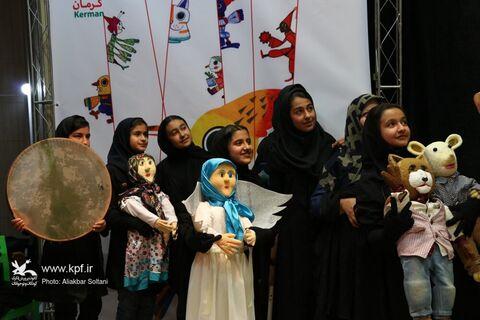 روز دوم هجدهمین جشنواره هنرهای نمایشی کانون استان کرمان
