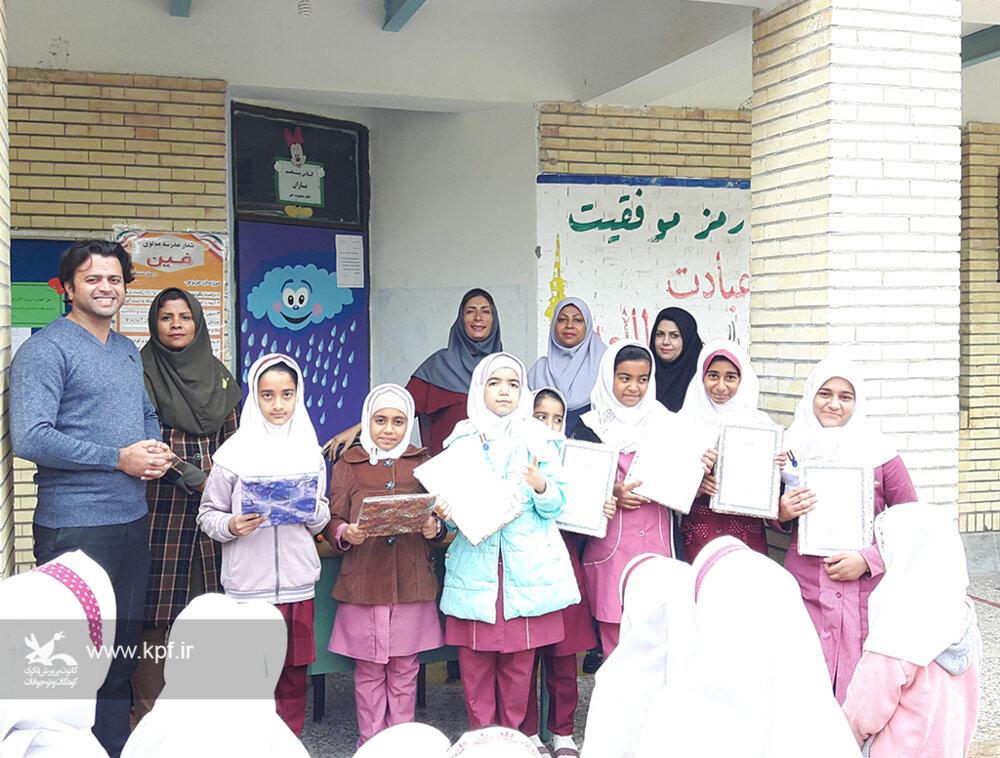 نشان برتر کتابخوان به اعضای کتابخوان هرمزگان اهدا شد