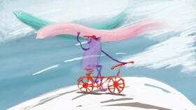 نمایش «باد دوچرخه سوار» در جشنواره فیلم «نوئی مجیک» فرانسه
