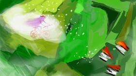 انیمیشن «باد دوچرخه سوار» به کارگردانی نازنین سبحانسربندی