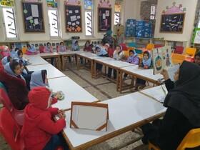 فعالیتهای طرح کانون مدرسه در مرکز فرهنگی هنری کانون کلاله