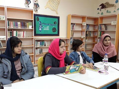 انجمن ادبی آفرینش کانون پرورش فکری استان کرمانشاه به روایت تصویر