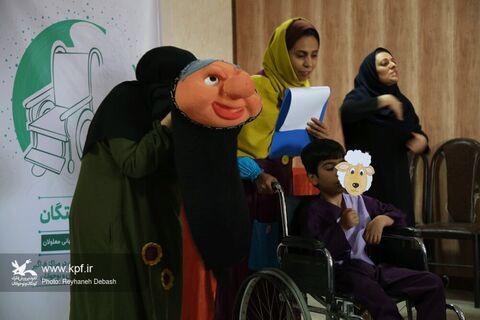 برگزاری ویژه برنامه بر بال فرشتگان به مناسبت روز جهانی معلولان(بوشهر)