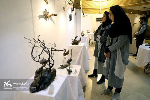 افتتاح نمایشگاه  « آب و آینه »