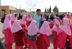 امداد فرهنگی پیک امید کانون فارس در روستای وزیرآباد