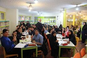 نخستین نشست انجمن خوشنویسی در کانون استان تهران