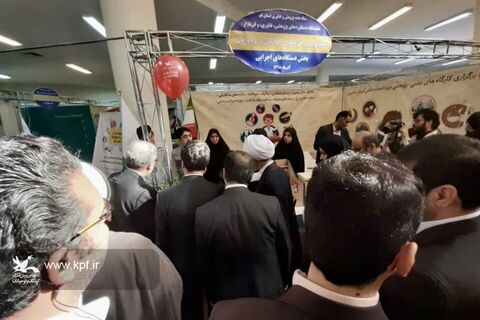 حضور اعضای پژوهشگر کانون استان قم در نمایشگاه دستاوردهای پژوهشیفناوری (۱)