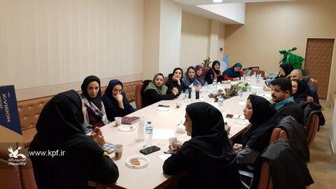 مربیان کانون استان تهران بر صحنه